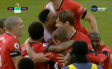 Саутхемптън - Манчестър Юнайтед 2:3 /репортаж/