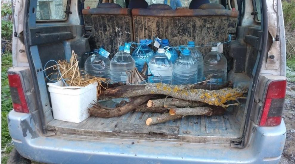 Митничари иззеха близо тон контрабанден алкохол в...