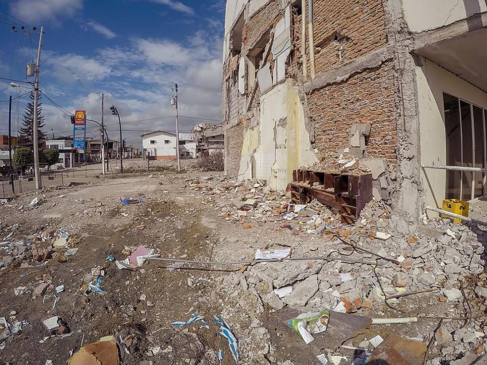 Еквадор земетресение