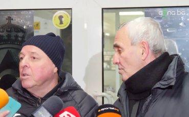 Тарханов: Вуцов е вратар с бъдеще