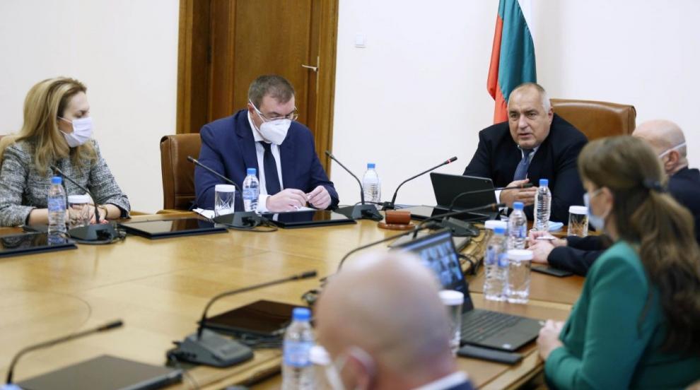 Борисов: Готови сме за първите доставки на ваксини...