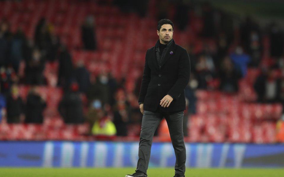 Наставникът Микел Артета вярва, че Арсенал се намира просто в