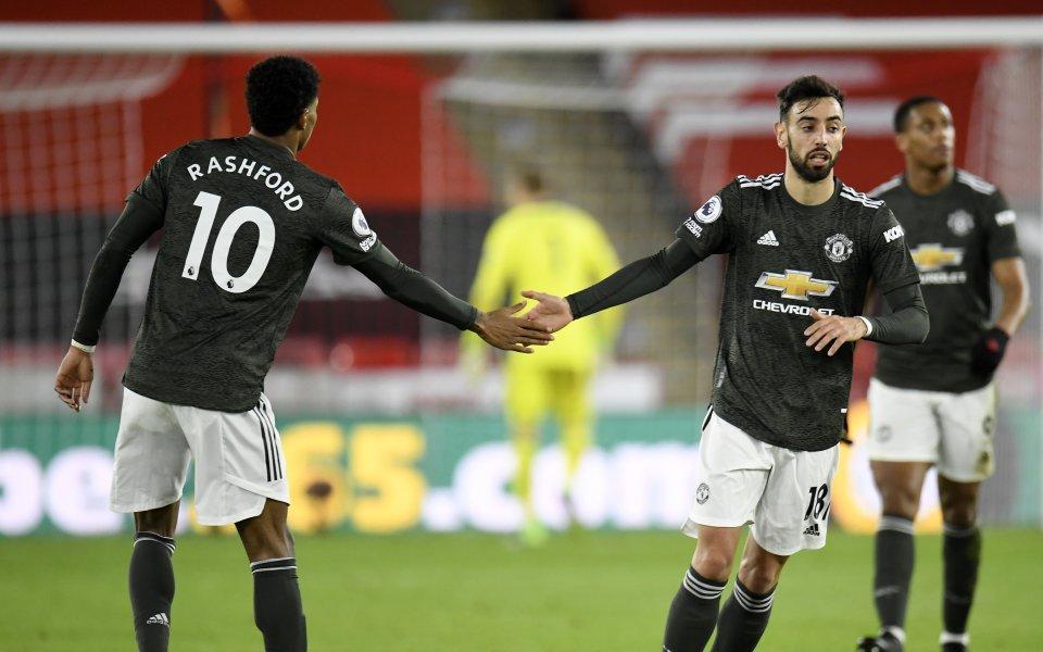 Победата на Манчестър Юнайтед над Шефилд Юнайтед с 3:2 в