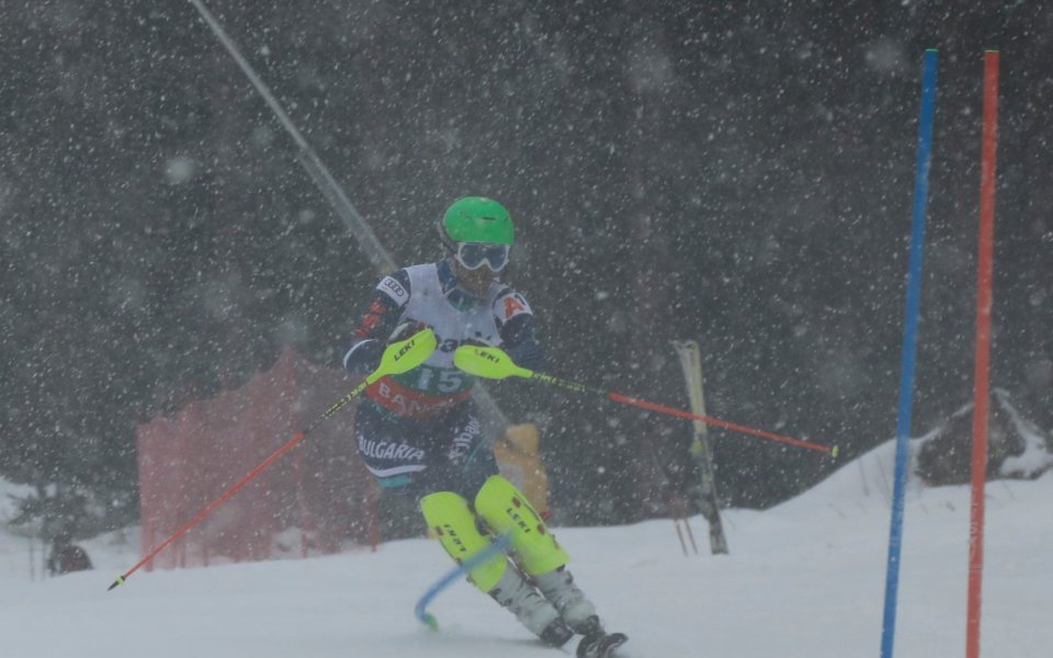 Калин Златков завърши на 12-о място от СП  в Банско