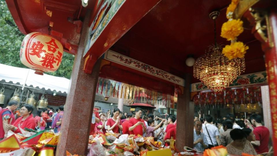 Част от празненствата за новата година в азиатския свят