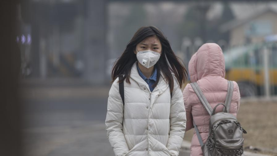 <p>Рекорден студ в Пекин за последния над половин век</p>