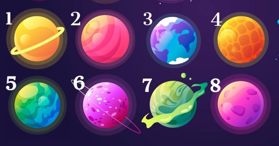 планети тест