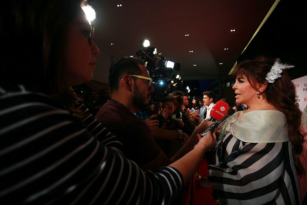 Вероника Кастро е известна предимно с телевизионните сериали