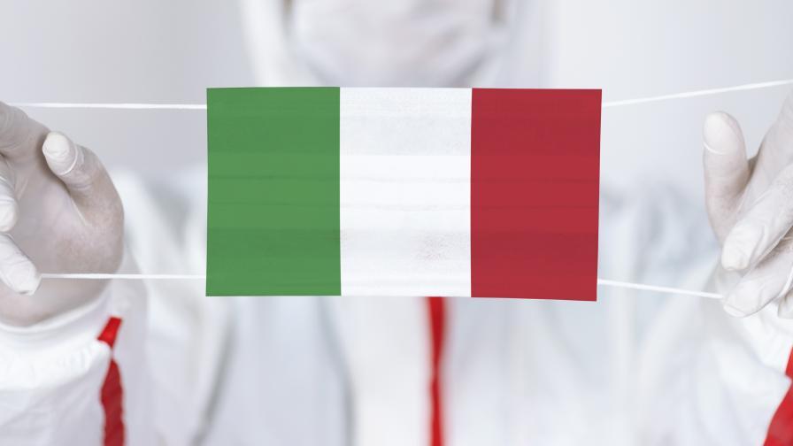 Италия отново е разделена на зони заради COVID-19