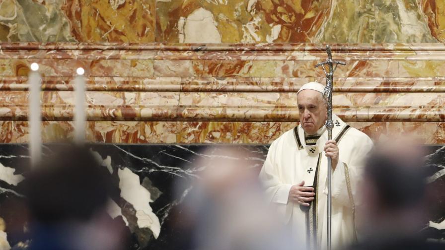Папа Франциск обясни защо всеки трябва да се ваксинира срещу COVID-19