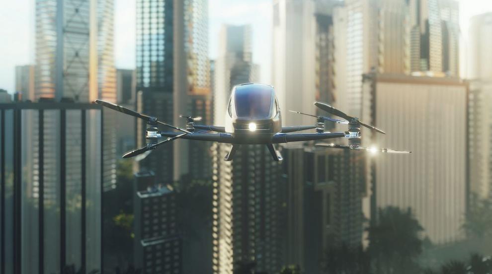 Летящ автомобил ще превозва пътници (ВИДЕО)