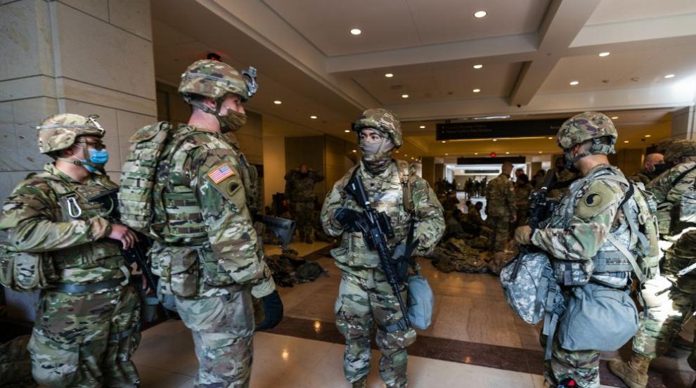 25 000 бойци от Националната гвардия ще охраняват...