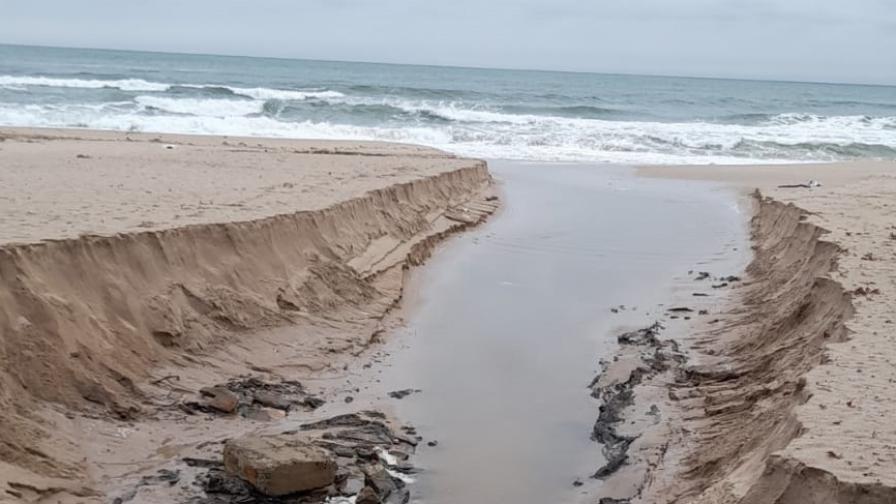 Морски плаж Созопол централен