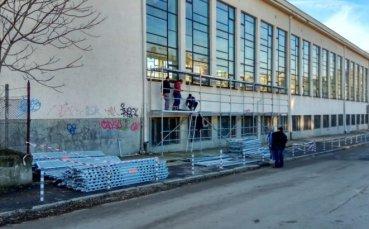 Ремонтират лекоатлетическата зала в Русе