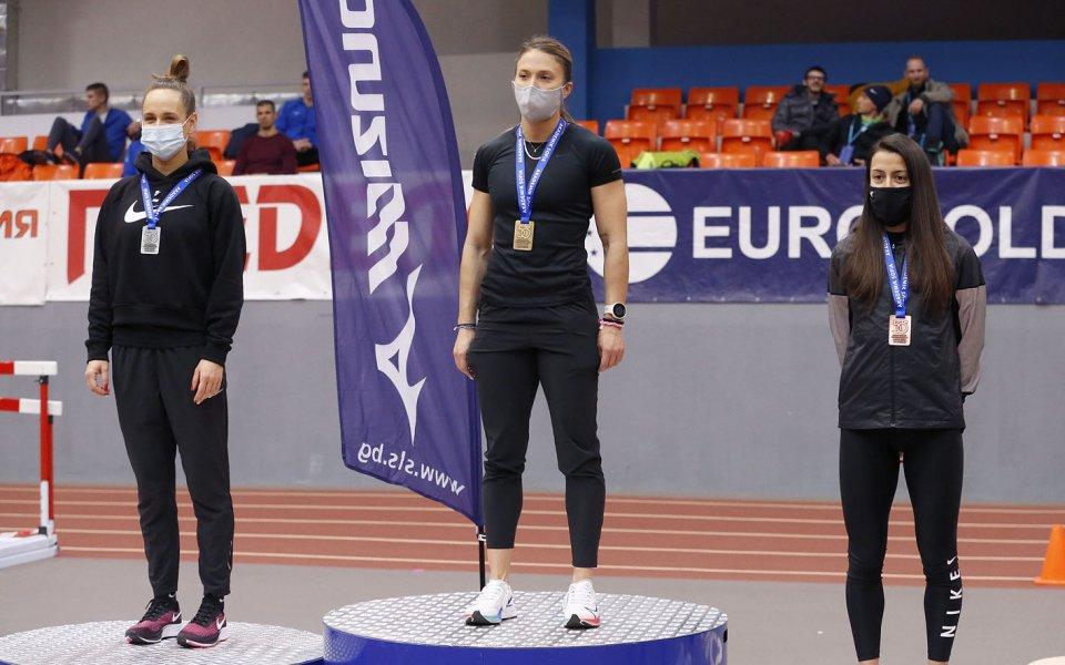Многократната шампионка на България Инна Ефтимова бе победена от гъркинята