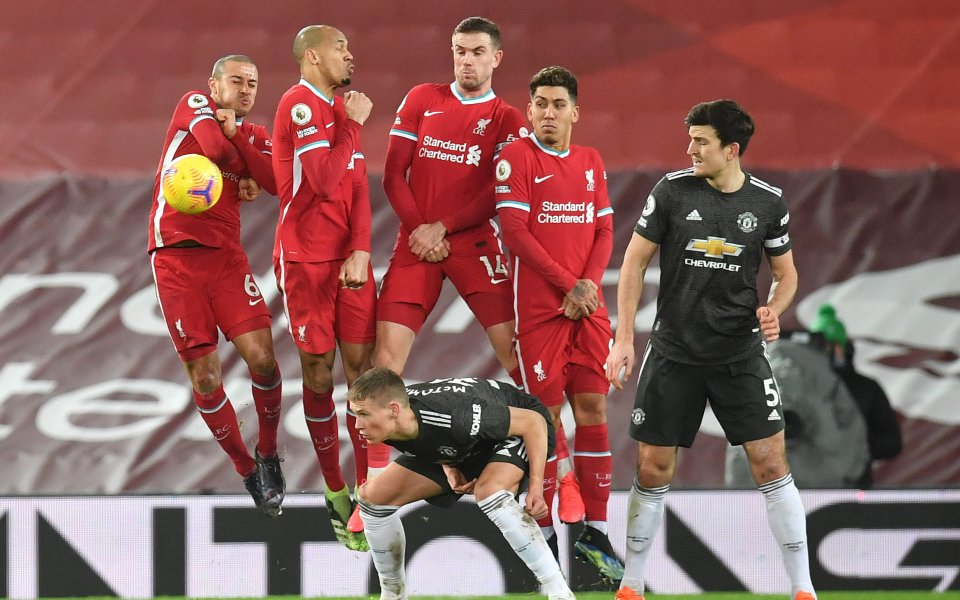 Ливърпул и Манчестър Юнайтед завършиха 0:0 в дербито от 19-ия