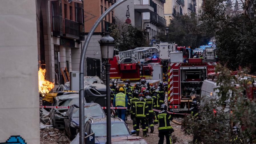 Взрив в Мадрид