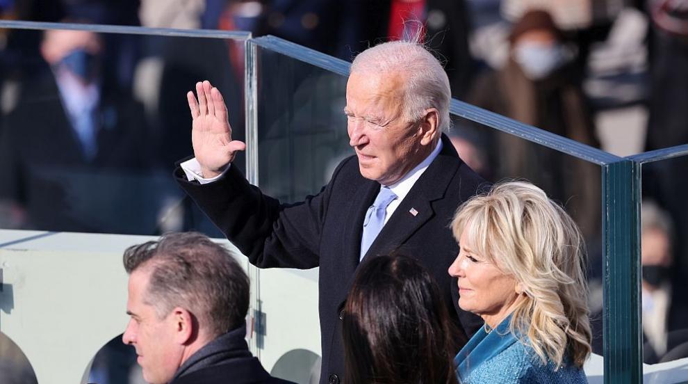 Джо Байдън след клетвата: Демокрацията триумфира