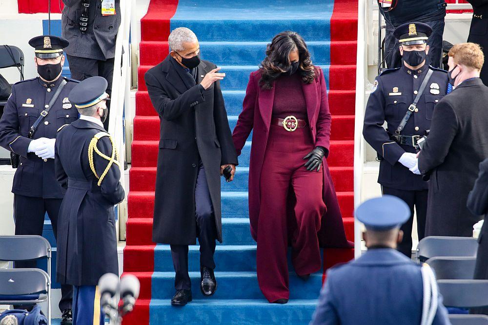 Барак Обама и Мишел Обама