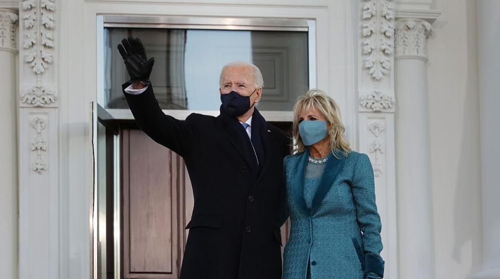 Джо Байдън влезе в Белия дом като президент (ВИДЕО)