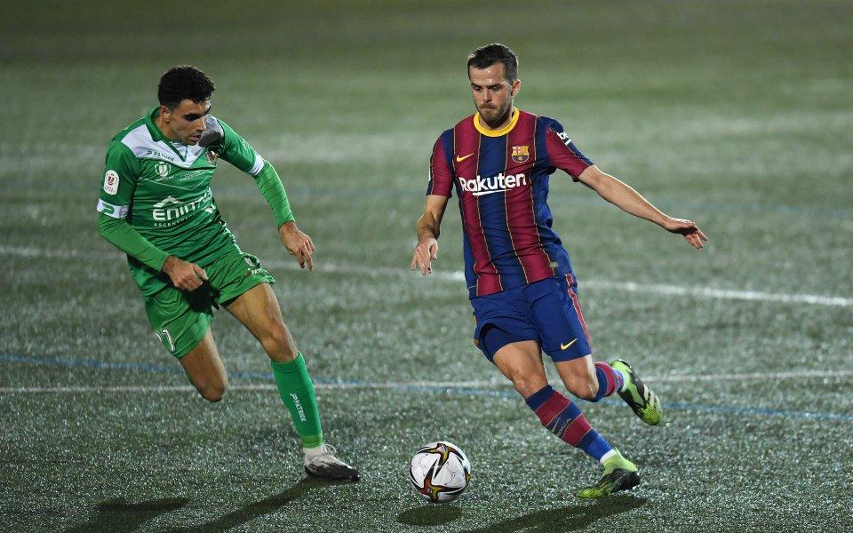 Корнея и Барселона играят при 0:0 в мач от 1/16-финалите