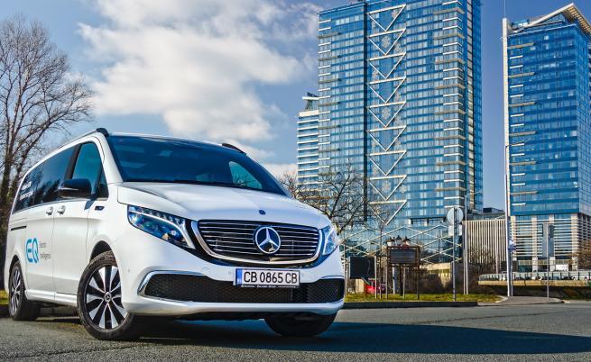 До края на годината Mercedes пуска 5 електромобила у нас