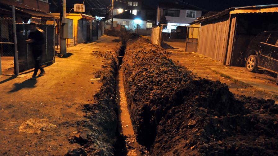 Разкриха строителство на незаконен водопровод в Хасково