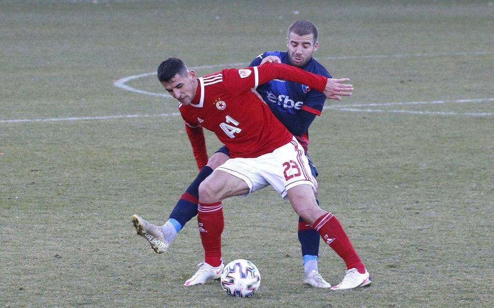 Ахмедов титуляр при поражение за своя тим в Азербайджан