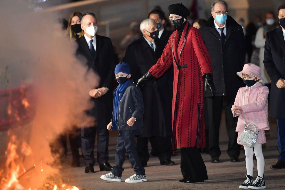 Кралското семейство на Монако почете Деня на Света Девота - покровителка на Монако и династията