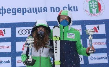 Нови победи за Калин и Юлия Златкови в Боровец