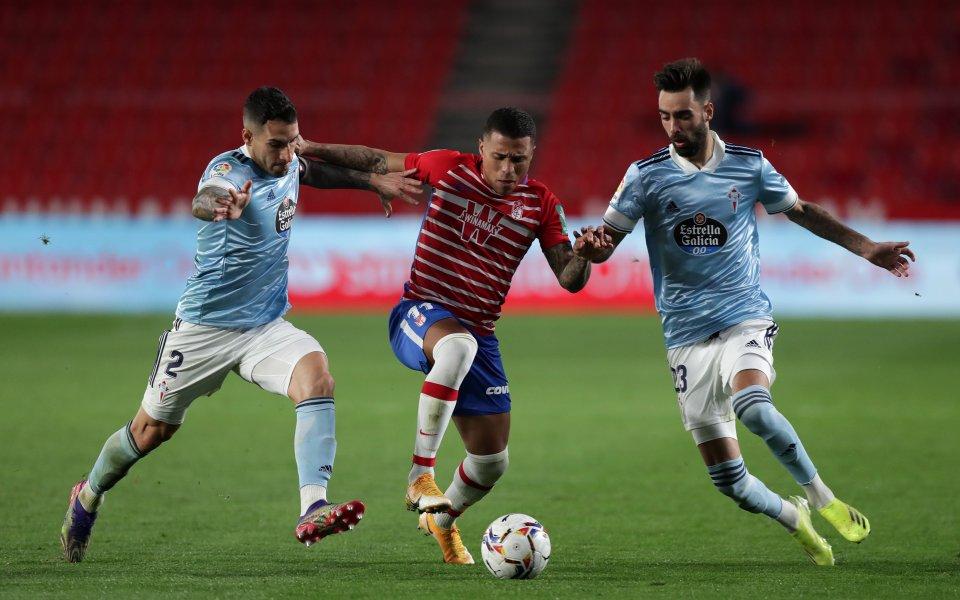 Гранада и Селта завършиха при равенство 0:0 в мач от