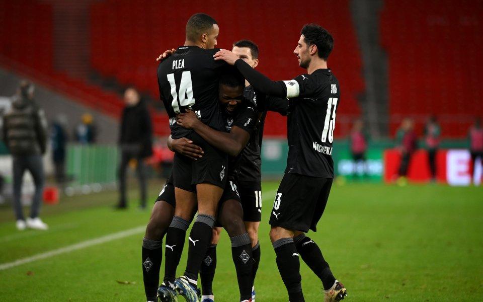 Борусия Мьонхенглдбах се класира на четвъртфиналите за Купата на Германия