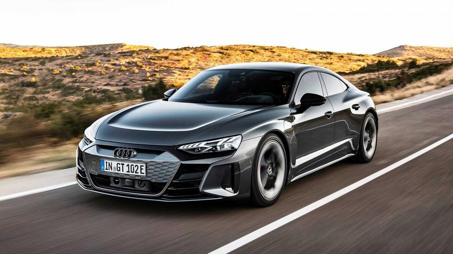 Впечатляващи параметри и визия за електрическия Audi e-tron GT