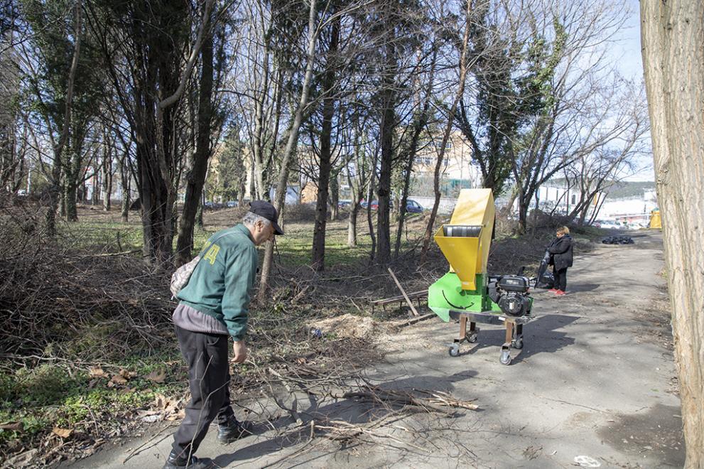 парк Загорка
