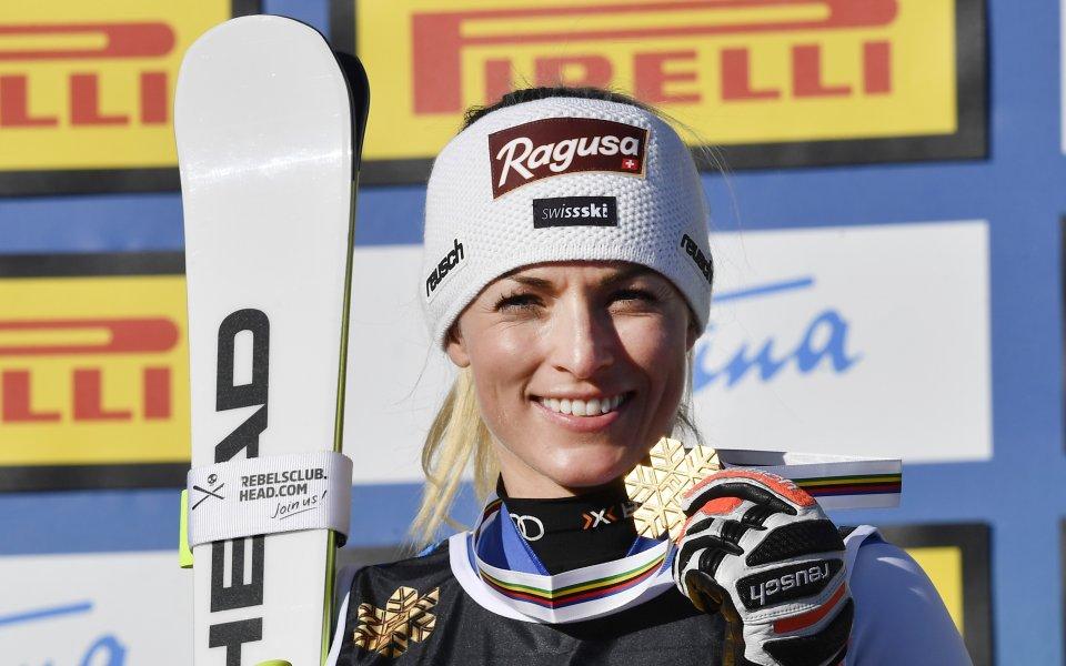 Лара Гут-Бехрами спечели и второто спускане във Вал ди Фаса
