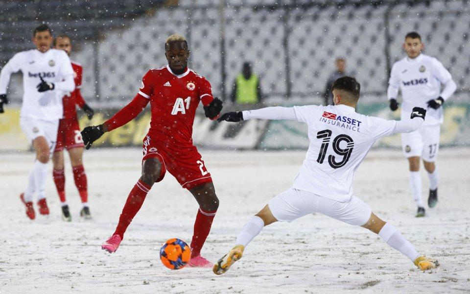 ЦСКА победи с минималното 1:0 Славия в мач от 17-ия