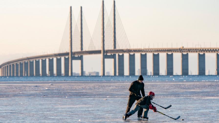 Ледена зима в Швеция