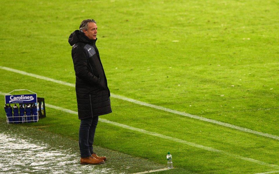 Отборът от Бундеслигата Арминия Билефелд се раздели със старши треньора