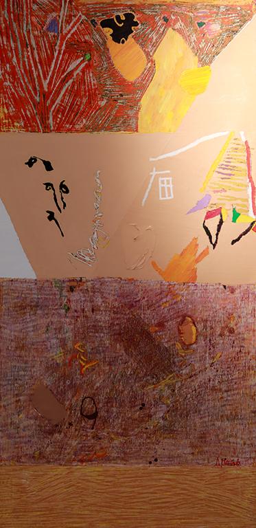 <p>Сам художникът споделя, че &bdquo;нашето съществуване, освен в материалното, преминава и в един невидим свят, който има своята логика&ldquo;.</p>