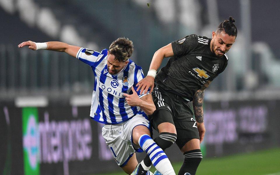 Манчестър Юнайтед посреща Реал Сосиедад в мач-реванш от 1/16-финалите на