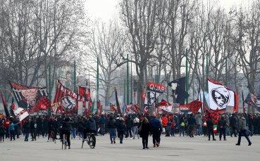 7000 тифози на Милан и Интер нарушиха противоепидемичните мерки пред Сан Сиро (СНИМКИ + ВИДЕО)