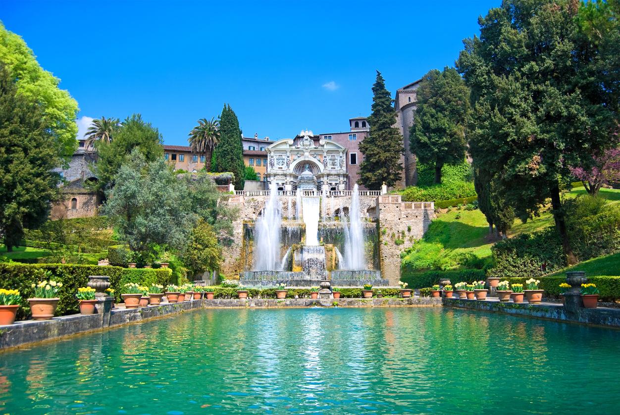 <p>Вила д&#39;Есте, Италия - с нейните красиви градини и живописни фонтани&nbsp;</p>