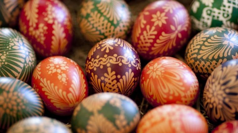 Как да съхраняваме боядисаните яйца