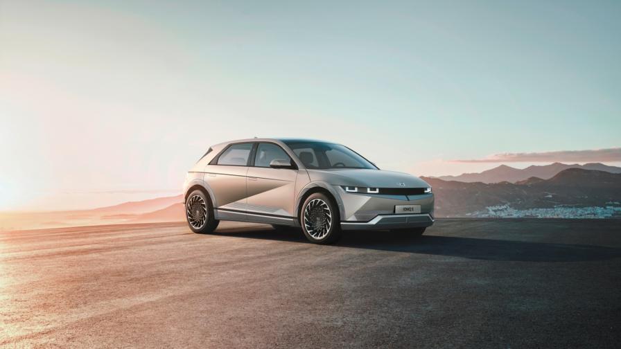 <p>Уникален дизайн и параметри за електрическия Hyundai Ioniq 5</p>