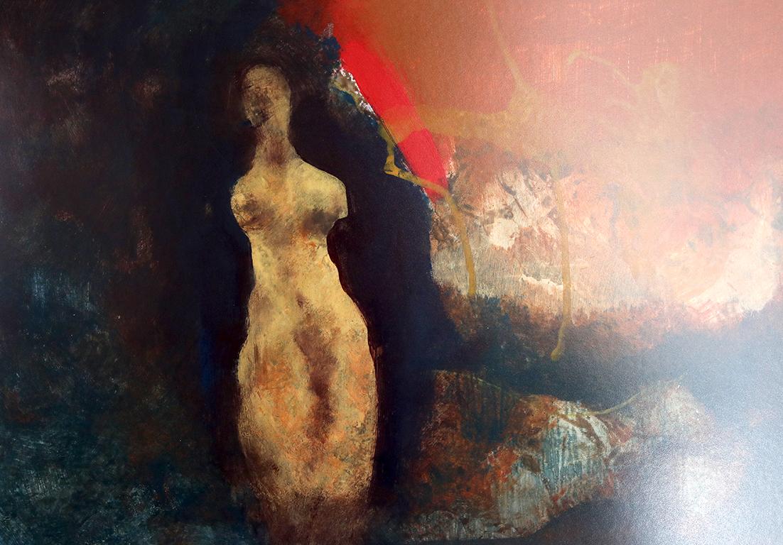 <p>&bdquo;За тишината в мен, в нас, където въображението да пропътува световете затворени в картинното пространство, като страници от сънувана книга &ndash; сънувана в ателието, в тишината на собствената чувствителност.&ldquo; Никола Стоименов</p>