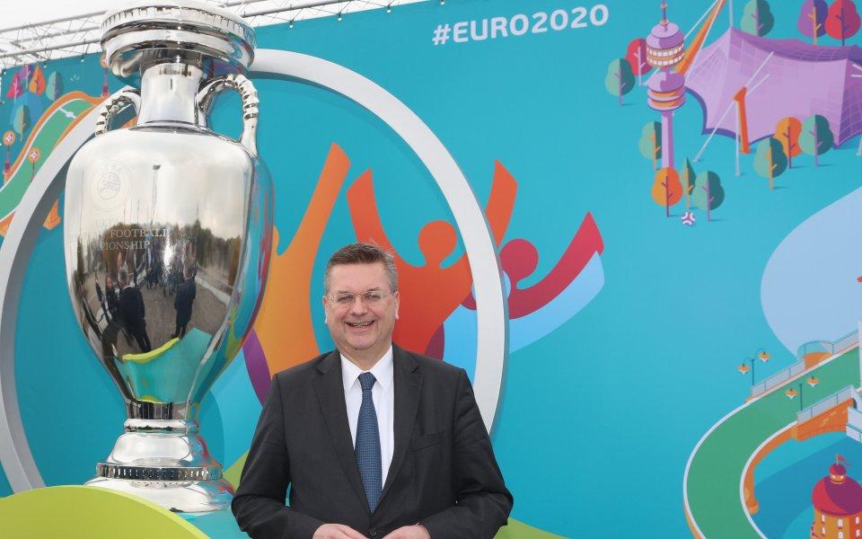 Главният медицински съветник на УЕФА за Евро 2020 отхвърли възможността