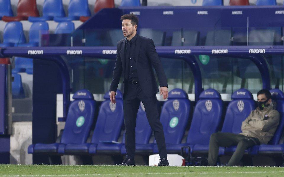 Атлетико Мадрид поне на този етап запазва живи шансовете си
