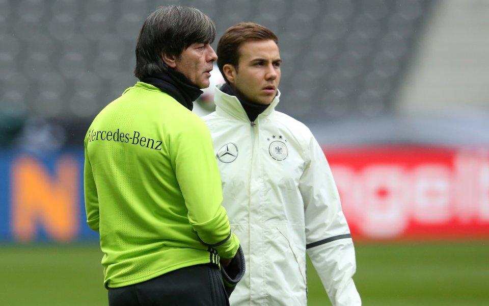 Марио Гьотце може да се завърне в германския национален отбор,