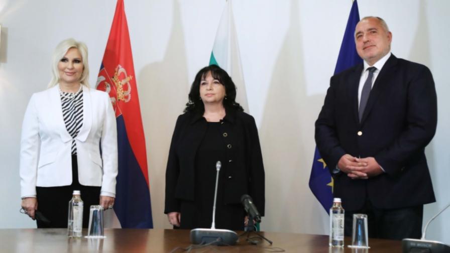 Бойко Борисов, Зорана Михайлович, Теменужка Петкова