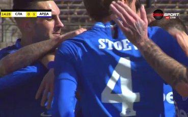 Дебютен гол на Тонислав Йорданов за Арда